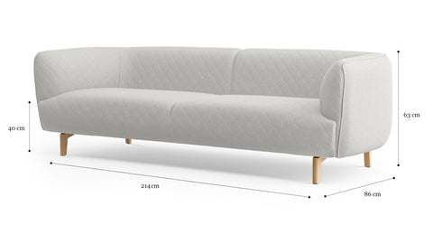 Gibbs 3 Seater Sofa