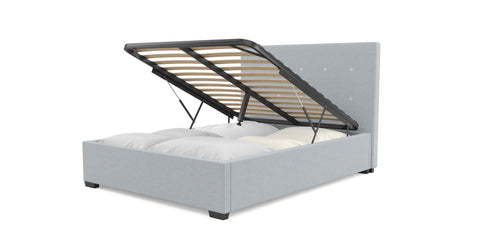 Gisele Gas Lift Queen Size Bed Frame