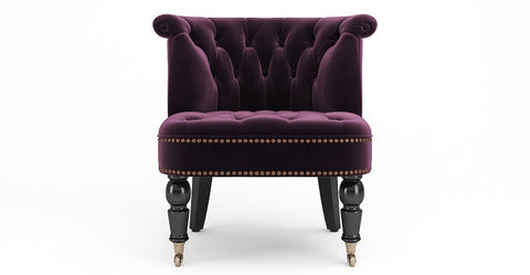 Helene Velvet Chair