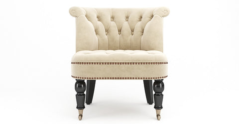 Helene® Velvet Accent Chair