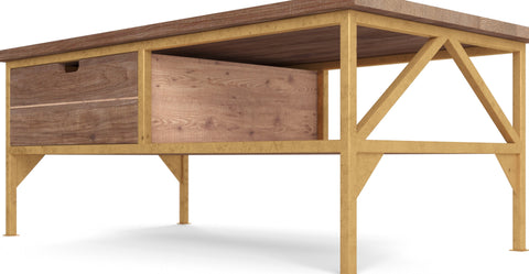 Augustine Coffee Table with Drawer