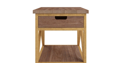 Augustine Lamp Table with Drawer