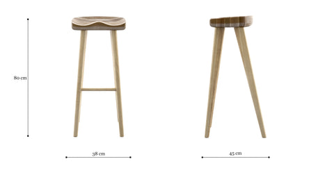 Adam Bar Stool High
