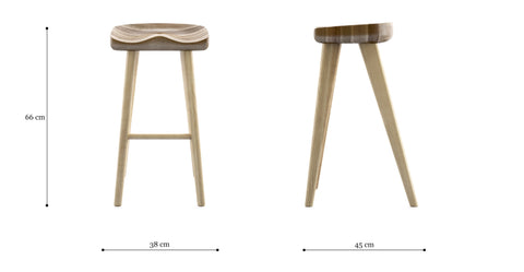 Adam Bar Stool Low