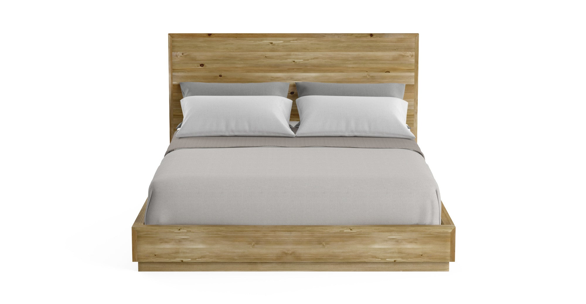Bruin wooden queen size bed frame for Queen size bed frame