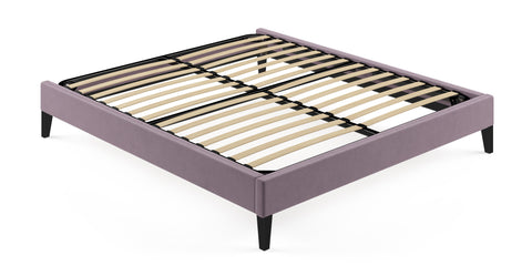 King Size Upholstered Slimline Bed Frame Base