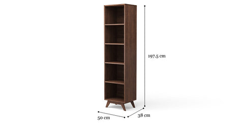 Elizabeth Narrow Bookcase