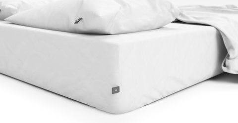 Brosa Essentials Cotton Rich Sheet Set White