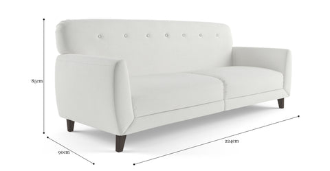 Clem 3 Seater Sofa Bed