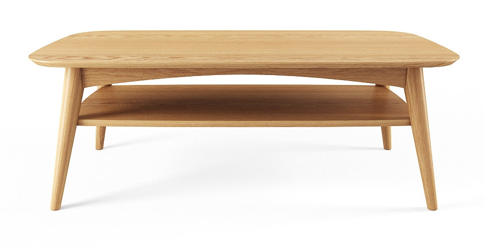 Mia Coffee Table with Shelf
