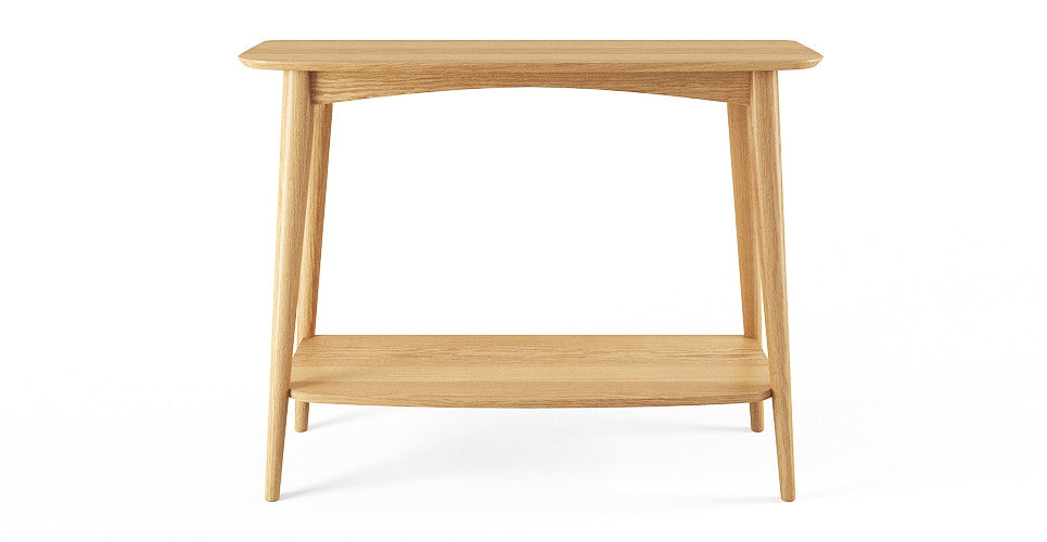 Mia Console Table with Shelf