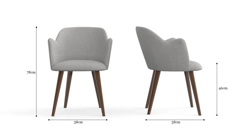 Jean 2x Dining Chair