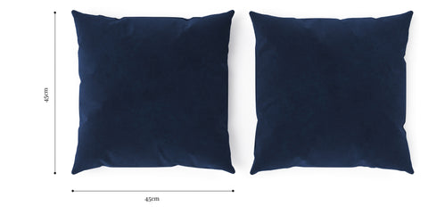 Elementary Cushion Ocean Blue with Ocean Blue