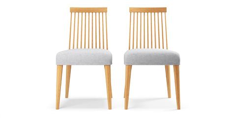 Elizabeth 2 x Windsor Spindle Back Chairs