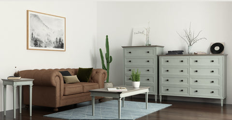 Enzo Narrow Chest of Drawers