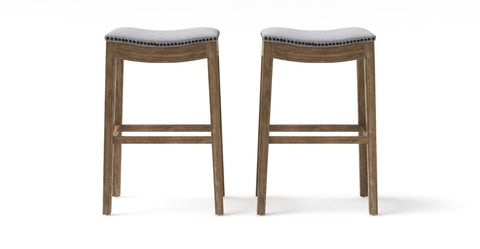 Hocker Set of 2 Bar Stools - Henry High 77.5