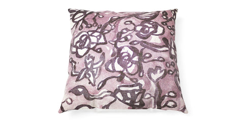 Spacecraft Rose Cushion