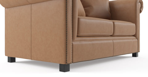 Jamie Leather 2 Seater Sofa