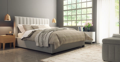 Megan Gas Lift King Size Bed Frame