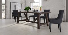 Chelsea Table, 2x Espen Dining Chairs & 2x Espen Scoop Dining Set