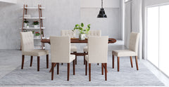 Elizabeth Dining Table and 6x Espen® Dining Chairs Set