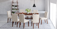 Elizabeth Dining Table and 8x Espen® Dining Chairs Set