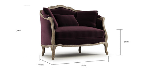 Lucy 2 Seater Sofa