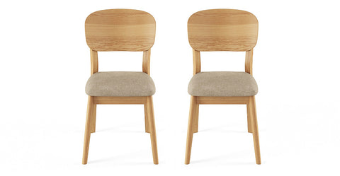 2x Mia chairs