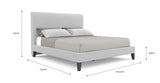 Sara King Size Bed Frame