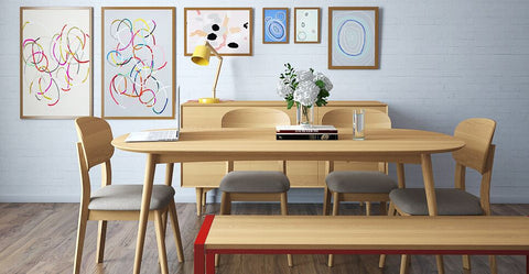 mia dining set with bench
