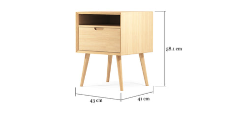 Ethan Square Side Table