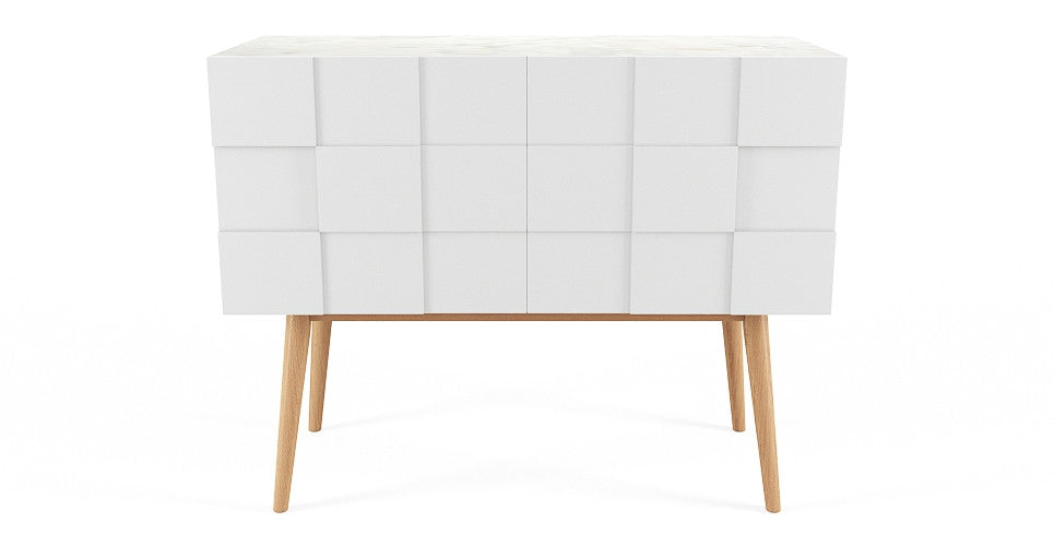 Olympia Marble Top Sideboard