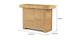 Haruki Narrow Sideboard