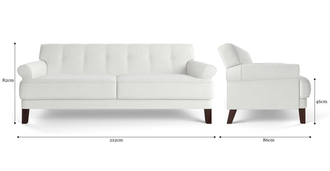 Sondra 3 Seater Sofa Bed
