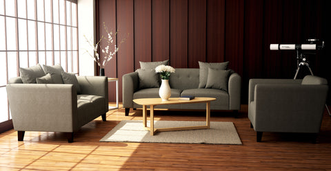 Finn Sofa Set: 2 & 3 Seater