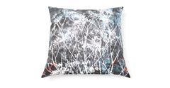 Spacecraft Studio Painting Dark Fennel Cushion