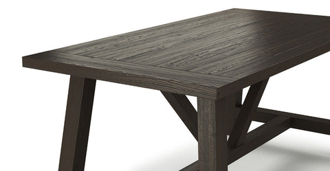 Chelsea Trestle Dining Table 185 x 95