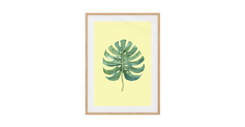 The Monstera Print