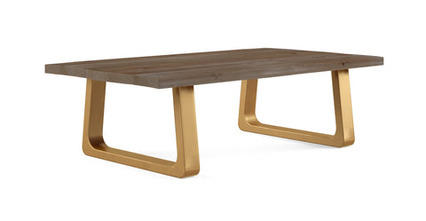 Watkins Coffee Table with Wide Legs