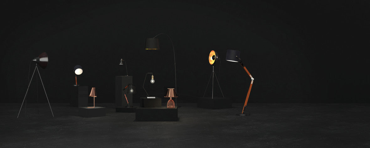 brosa lighting - table lamps & floor lamps