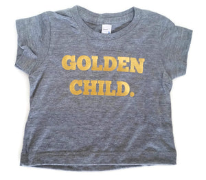 | GOLDEN CHILD | Gray + Gold