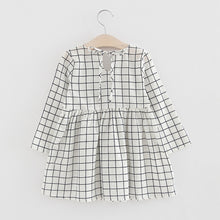 | STELLA |  Black + White Grid Dress
