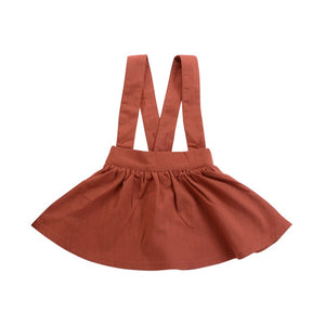 | DOLLY | Brown Overall Skirt