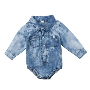 | DECKER | Denim Wash Onesie