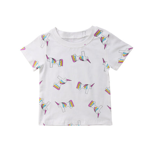 | UNICORN | Rainbow Unicorn Tee