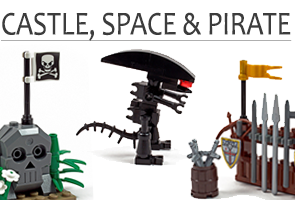 Castle, Space & Pirate
