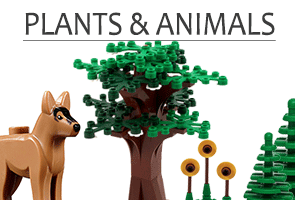 Fauna & Flora for your LEGO World