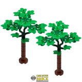 Leafy Trees - pack of 2