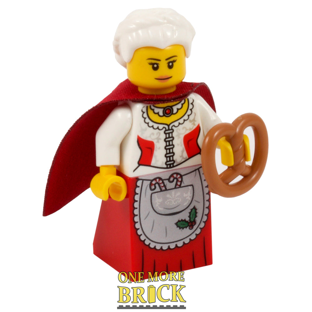 Mrs Santa Minifigure
