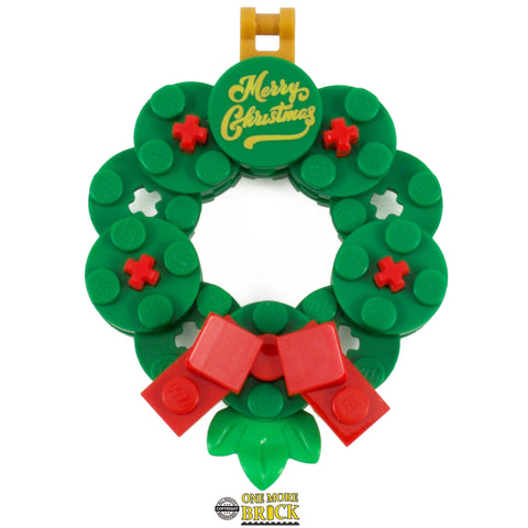 Lego Christmas Wreath Hanging decoration 6cm